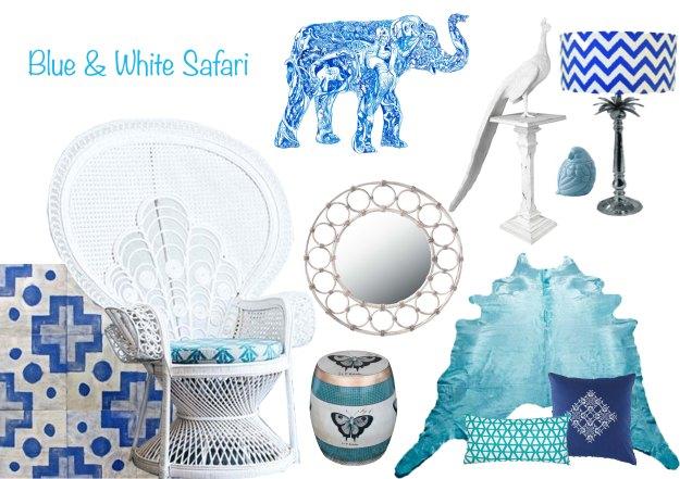 Blue & White Saffari5